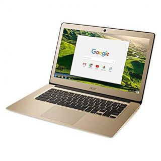 Laptop acer cb3-431 gold