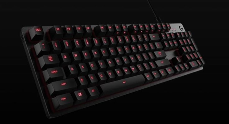 Keyboard logitech gaming murah rgb